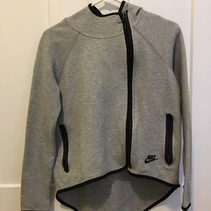 Nike Gray Sweatshirt/Jacket Women's size XS